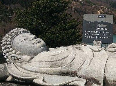 寝釈迦大仏の顔