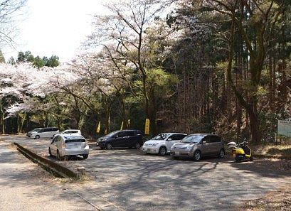 柄杓山駐車場の様子