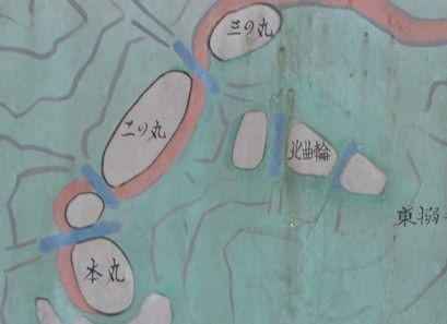 柄杓山城跡の場所