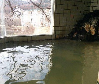 浴槽から見える景色