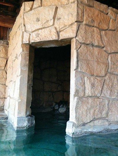 洞窟風風呂
