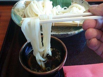 太麺の様子
