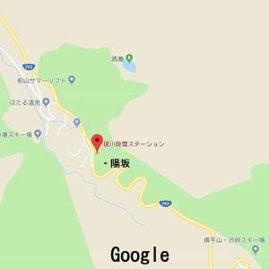 国道292号線硯川除雪ステーション付近の地図