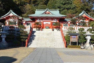 足利織姫神社社殿