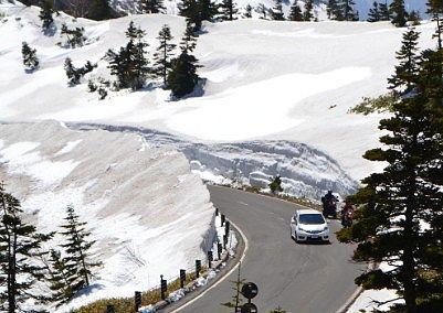 雪の回廊の様子