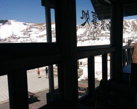 展望レストランからの景色