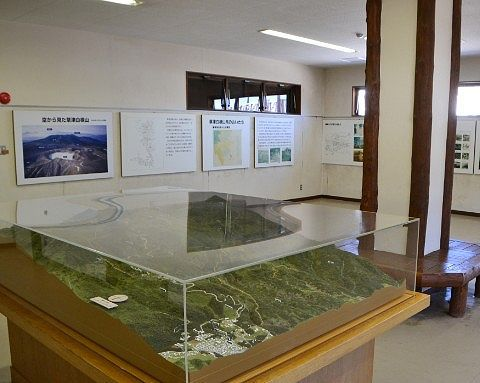 白根山の高山植物と歴史館の様子