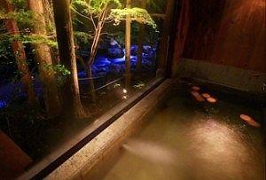 割烹旅館清風園風呂