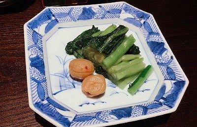 梅干しと野沢菜