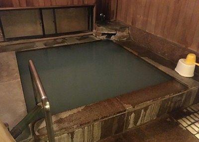 貸し切り風呂の内湯のサイズ