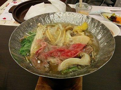 高原牛の鍋