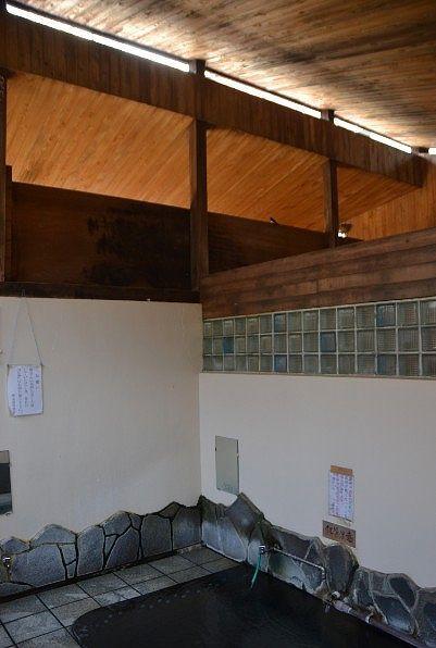 湯屋の天井の様子