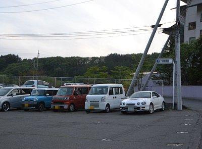 老神温泉にある沼田市営駐車場