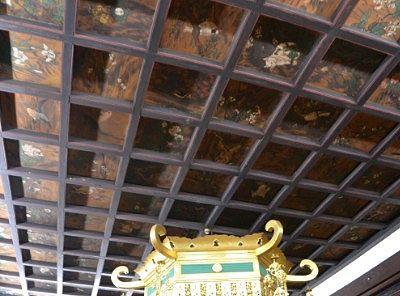善徳寺天井板絵