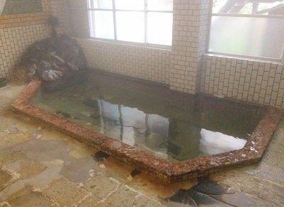 楽善荘の内湯の様子