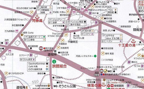 十王堂の湯の周辺地図