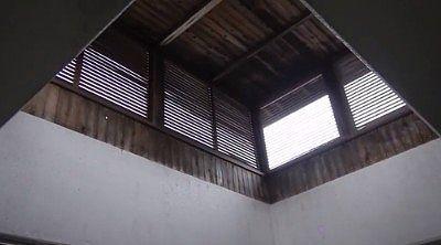 十王堂のお風呂場の天井部分