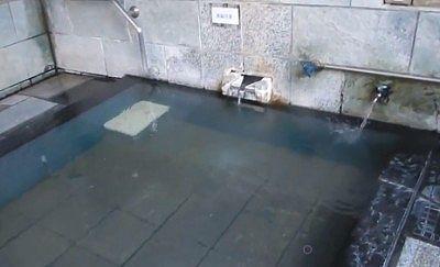 かけ流しされてる源泉と水道水