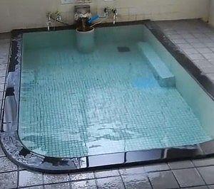 新田の湯の温泉の様子