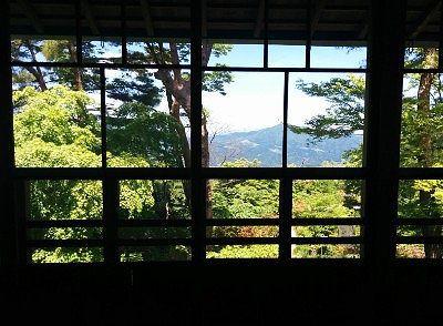 公使別邸二階からの眺め