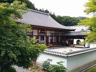 宝徳寺と枯山水庭園