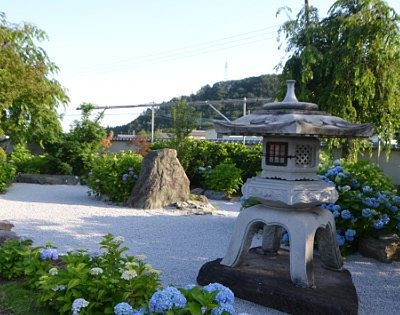 石庭庭園の様子