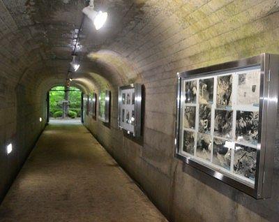 出口付近のトンネルの様子