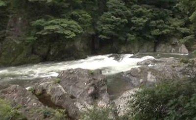 渡良瀬川の畔