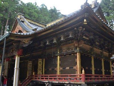 国宝拝殿の外観