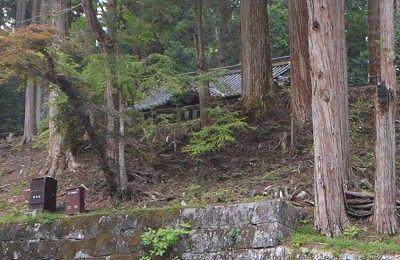 家光公の墓所の様子