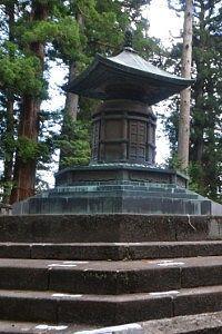 日光東照宮にある徳川家康公の墓