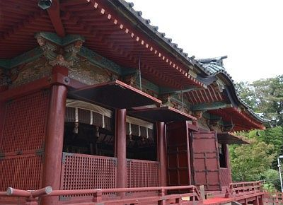 旧日光東照宮の社殿(現世良田東照宮)