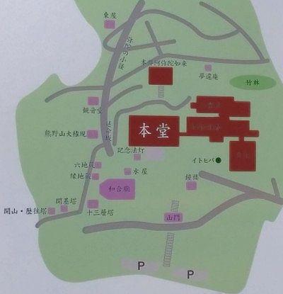 崇禅寺境内図