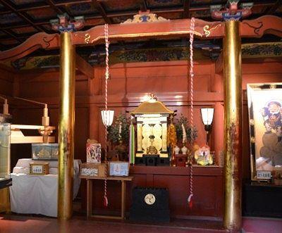 大黒殿の中の拝所