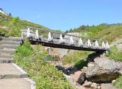 熊四郎遊歩道にある橋