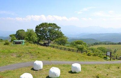 嬬恋牧場レストハウスからの景色