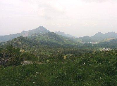 横手山スカイレーターからの景色