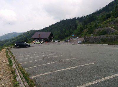 スカイ喫茶のぞき駐車場