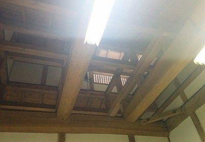 大浴場の天井部分