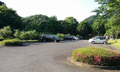 小平の里親水公園専用駐車場の様子