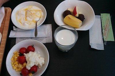 バイキングの朝食2