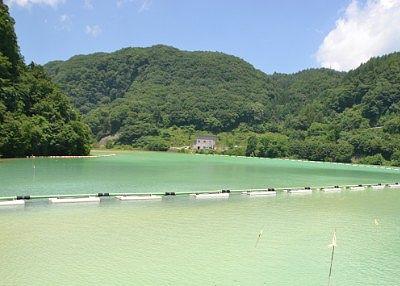 上州湯ノ湖の景色