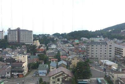 新客殿16階からの眺め