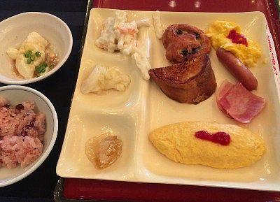 朝食の食事内容