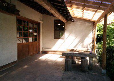 食事処山楽の入口