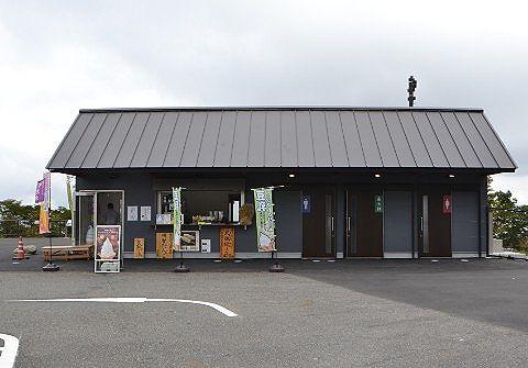 売店のあった建物
