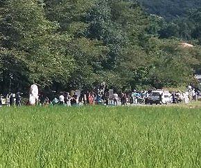 大盛況の2018薮塚かかし祭り