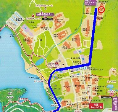 にごり湯の宿かつら荘への行き方地図