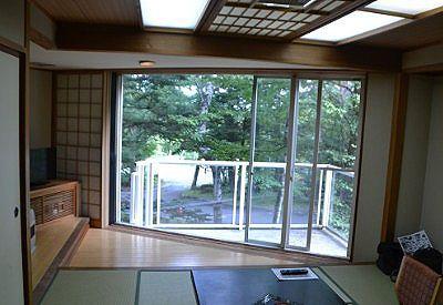 樹林棟客室の様子