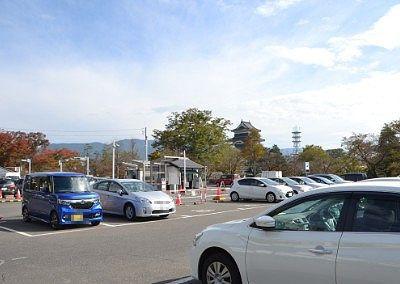 市営開智駐車場の様子
